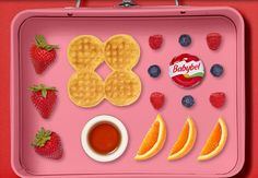 Breakfast lunchbox Babybel Cheese Recipes, Envy, Lunch Box, Cookies, Breakfast, Desserts, Food, Crack Crackers, Morning Coffee