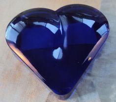 Vintage Cobalt Blue glass ...