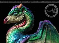dragon from M. Pena Windstone collection. I love thee dragons!