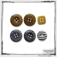Buttons Collection 2011 nº8 by Fa Maura [FaMaura_BotaoAmePrt] - $2.00 : FaMaura.com - scrapshop