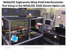 NASA Eagleworks' warp-field interferometer.