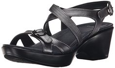 Dansko Women's Julie Wedge Sandal, Pewter Metallic, 38 EU/7.5-8 M US *** Want to know more, click on the image.
