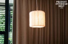 This soft fixture is made entirely out of delicately knitted mesh which has been formed into a light shade. The result is a unique fixture. The E27 screw base light bulb is subtly hidden by the lampshade. Attached to the socket there is a wire that has been braided in black and white. Discover our line of Scandinavian lighting fixtures at https://www.pib-home.co.uk/ the specialist in Scandinavian furniture, lighting and decorating style.