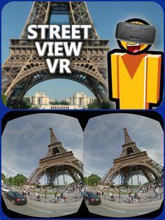 Google streetview VR cardboard: http://stv.re/oculus-street-view-vr-js/ & http://youtu.be/UEj1FdNq0V4