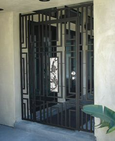 A Lockable Wrought Iron Gate Might Be Nice To Safely Keep The Front And Or  Back Door Open To Air Out The House Or Studio.