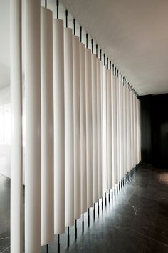 Light Diffusing Screen / Space Copenhagen / Geranium #blinds #screen #curtain