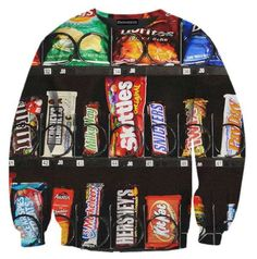 Belovedshirts' Line of Clothing Features Big and Bold Imagery #JunkFood #Fashion