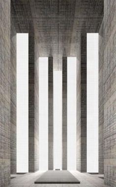 Simon Ungers. Catherdral from the series '7...