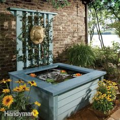 Outdoor Pond Ideas: Pond in a Box: The Family Handyman