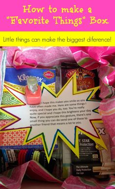 This is so thoughtful! I can't wait to make one for my BFF!