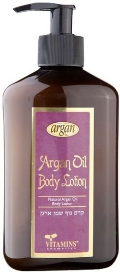 Argan is considered an effective anti-aging oil due to properties such as the high levels of vitamin E, which is important for skin exposed to polluted environments.Also the body lotions which contain pure moroccan argan oil provides protection and adds more glow to Dry Skin. $14.68