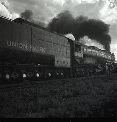 Union Pacific Train Steam Engine, 1954