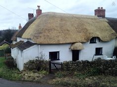 The Cottage - newly thatched.