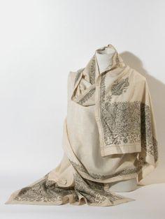 Shawl 1810-20 National Trust, Killerton, Devon National Trust, Indian Patterns, Period Outfit, Regency Era, White Boots, Madame, Fashion Plates, Beautiful Dresses, Combat Boots