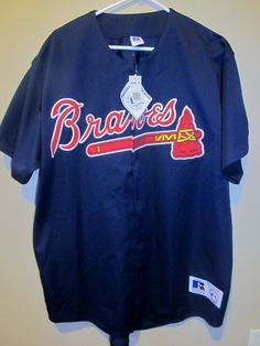 Russell Athletic Atlanta Braves Authentic jersey , Size Large , NWT
