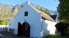 Boekenhoutskloof Winery, Jonkershoek Valley, South Africa