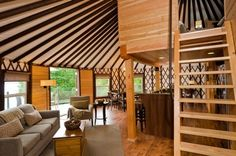 Yurt Design Ideas, Pictures, Remodel, and Decor - page 2