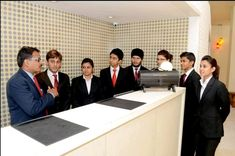 Hotel Management Institute gives the best chance to students in learning and improving their skills in hospitality.