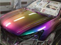Chameleon Pigment Powder Colorant Pigment Mica Powder for Paint Nail Art Craft,Shifting Powder Custom Paint Jobs, Custom Cars, Fancy Cars, Cool Cars, Color Changing Paint, Chrome Cars, Pigment Coloring, Glass Printing, Car Mods