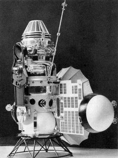 In 1966, Venera 3 becomes 1st  human built item to reach another planet's surface