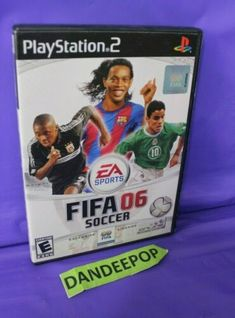 FIFA Soccer 06 (Sony PlayStation 2, 2005) Video Game | eBay #fifa #soccer #videogames #fifasoccer06 #playstation #ps2 #gaming #sports #dandeepop Find me at dandeepop.com Fifa Soccer, Soccer Video Games, Fifa 20, Playstation 2, Cyber, Videogames, Mall, Sony, Gaming