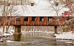 Emerts Cove ~ Great Smoky Mountains National Park covered bridge