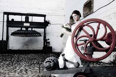 Es sitio es ideal para una novia como esta.