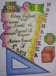 Notebook Cover Design, Diy Notebook, Decorate Notebook, Page Borders Design, Border Design, Musical Cards, Diy Back To School, Hand Lettering Alphabet, School Notebooks