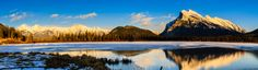Mount Rundle Panorama by Darcy Ertman on 500px