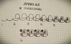 Zabbixz steps zentangle