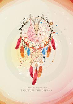 Dreamcatcher by Iqx Azmi, via Behance