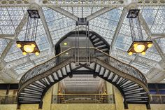 The Chicago Rookery Building - by John Wellborn Root and Daniel Burnham