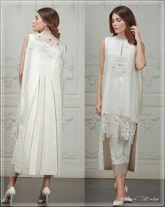 : Umaima Mustafa's collection releasing on the of June! Pakistani Dress Design, Pakistani Outfits, Indian Outfits, Abaya Fashion, India Fashion, Fashion Dresses, Kurta Designs, Mode Hijab, Elegant Outfit