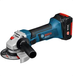 Bosch GWS 18 V-LI Cordless Angle Grinder The most powerful cordless angle grinder in its class Slim grip allows for greater control when grinding and cutting Ideal for cuts in tight spaces thanks its compact size Soft start and restart protection for increased safety for more:http://www.mrthomas.in/bosch-gws-18-v-li-cordless-angle-grinder_418