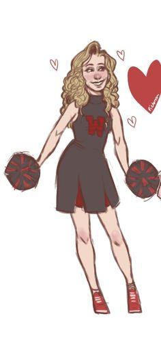 The Cheerleader, Heather McNamara #Heathers