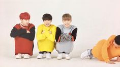 Performance unit being cute in jumpers 2/4