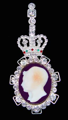 Order of Victoria and Albert–Queen Alexandra's Badge. A gift given to female members of the immediate family until the end of Queen Victoria's reign~it consisted of a cameo miniature set in diamonds.
