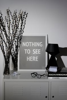 Nothing to see here art print from SOOuK soo-uk.com