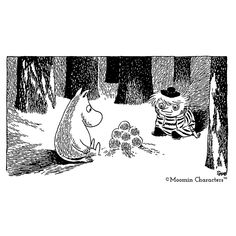 Moominland Midwinter bath towel 70 x 140 cm by Finlayson Tove Jansson, Bath Towels, Things To Buy, Troll, Lanterns, Moose Art, Tapestry, Black And White, Winter