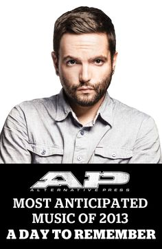A DAY TO REMEMBER - Jeremy McKinnon #mostanticipated