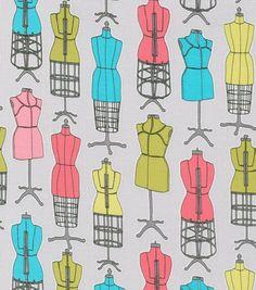 Novelty Cotton Print All Dressed Up Fabric via Joann
