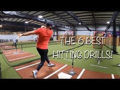 Top 6 Hitting Drills for Players of ALL Ages! [Baseball Hitting Drills That Really Work!] - Everything About Baseball Hitting Drills Softball, Softball Workouts, Basketball Drills, Best Baseball Player, Better Baseball, Baseball Tournament, Softball Pitcher, Baseball Training, Baseball Signs