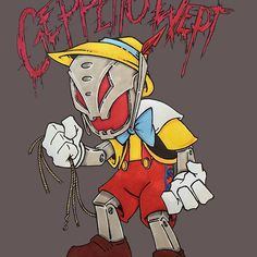 'Geppetto Wept' by barry neeson German Folk, Shirt Designs, Marvel