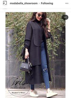 Modern Hijab Fashion, Street Hijab Fashion, Abaya Fashion, Muslim Fashion, Modest Fashion, Women's Fashion Dresses, Iranian Women Fashion, Korean Fashion, Womens Fashion