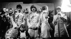 Sesión fotográfica para la portada de «Sgt. Pepper»