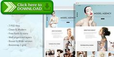 [ThemeForest]Free nulled download LOOK - Model Agency PSD Template from http://zippyfile.download/f.php?id=19298 Tags: beauty, clean, creative, fashion, gallery, light, lookbooks, model, model agency, models, photo, portfolio, unique, white