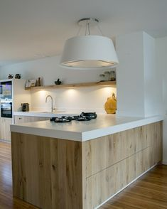 Kitchen island ideas for inspiration on creating your own dream kitchen. diy painted small kitchen design - with seating, lighting Modern Kitchen Island, Kitchen Island With Seating, Big Kitchen, Modern Kitchen Design, Interior Design Kitchen, Kitchen Decor, Design Bathroom, Kitchen Ideas, Contemporary Interior Design