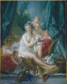 'The Toilette of Venus' (1751) by François Boucher