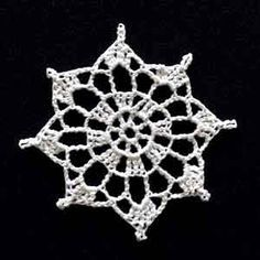 Crochet Snowflake #5