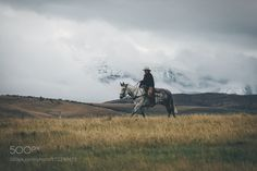 Lonely rider. by Bokehm0n. @go4fotos
